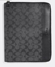 NCAA Ohio State Buckeyes Leather /& Canvas Padfolio Black