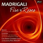 Madrigali: Fire and Roses (CD, Oct-2011, Divine Art)