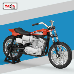 Maisto-1-18-Harley-Davids-1972-XR750-Racing-Bike-Motorcycle-Diecast-Model-Toys
