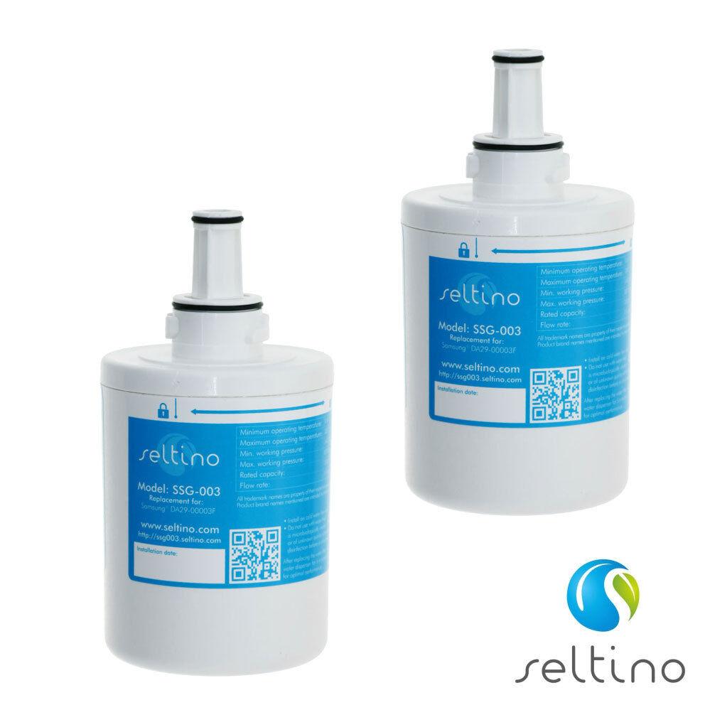 2x Seltino ssg-003 Samsung Frigorifero filtro COMP. da29-00003a b UV-sterile verpa