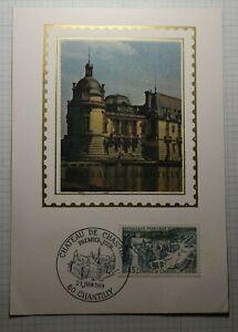 Chateau-De-Chantilly-Premier-Jour-Sc-1234-Maxi-Card-Postcard