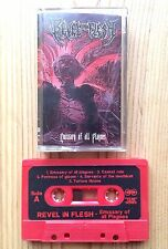 Revel In Flesh EMISSARY OF ALL PLAGUES Cassette Tape Limited Edition DEATH METAL