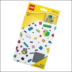LEGO Notebook with Studs #853798 / Includes 36 LEGO Flat Pieces / Brand New