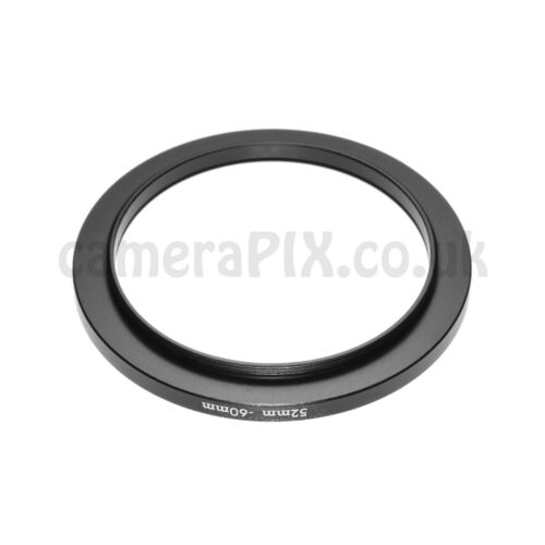 52mm to 60mm Male-Female Stepping Step Up Filter Ring Adapter 52-60 52mm-60mm UK
