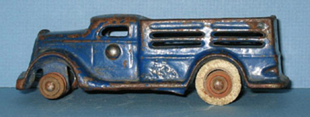 1936 Packard Stake Truck De Hierro Fundido Juguete auténtico & Old  Ahora en Venta  ci280