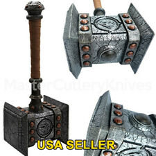 WOW World of Warcraft Thrall's Doom Hammer Limited Resin 1:1 scale Cosplay