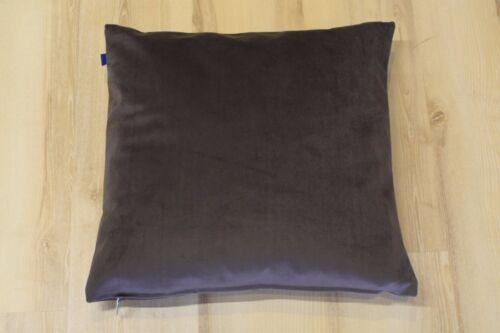 Coussin Emboss 012 anthracite 48x48 cm incl ressort de remplissage Joop