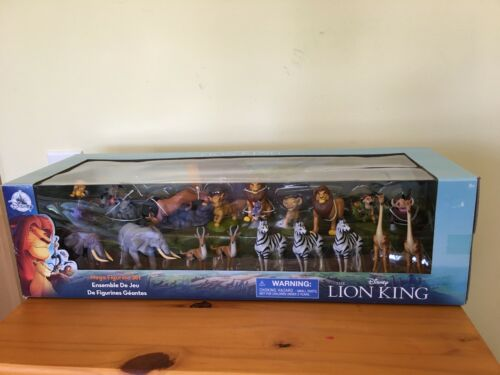 New Disney Store The Lion King Mega Figurine 18 piece Animals PVC Set