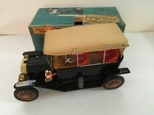 Vintage Sunrise Toys Ford Model T Multi Action Tin Car Japan Parts Or Repair Ebay