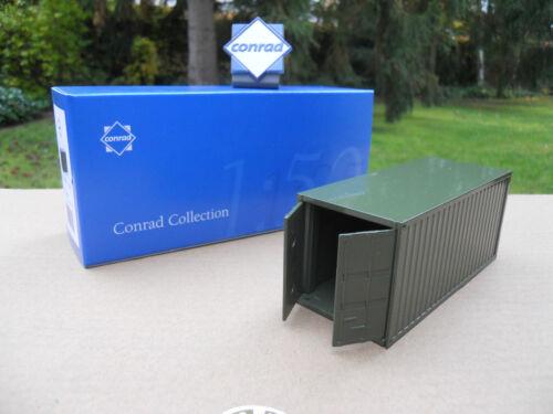 Conrad Militaire Lot De 3 Containers 20 Pieds Portes Ouvrantes Logo Offert