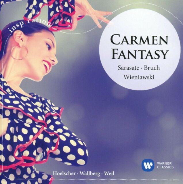 ULF/WALLBERG,HEINZ/MRO HOELSCHER - CARMEN FANTASIE  CD NEW SARASATE/WIENIAWSKI