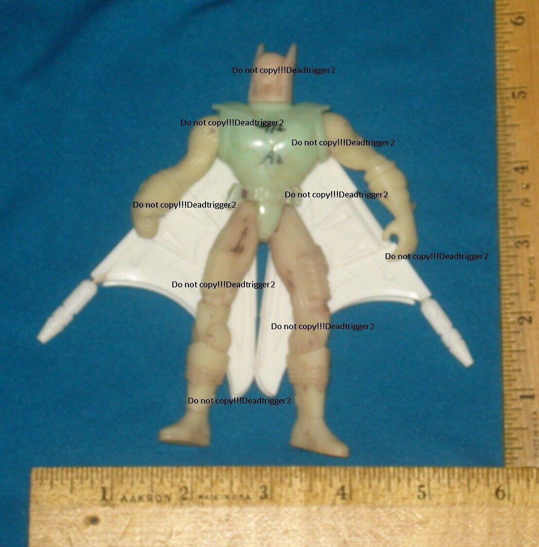 Ultra RARE Prossootype Unproduced Cancelled Batman Future Force Batman No Copy V 1