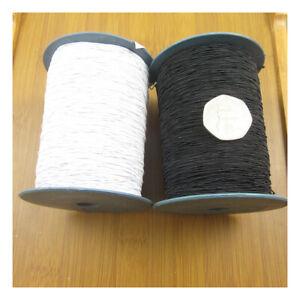 SHIRRING-ELASTIC-LARGE-SPOOL-1000-METRES-SMOCKING-WELTS-CUFFS-SEWING-CRAFTS-REEL