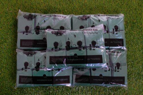 Eco Friendly dry powder toilet waste gelling bags Popaloo Pack of 50 PB50