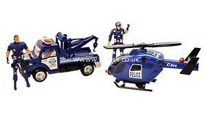 Policier Détails Rescue Hélicoptère Sur Police Titre D'origine 4 Boy Powered Afficher Le Jouet Friction Ensemble Flics Pièces Voiture mfy7Ib6gvY