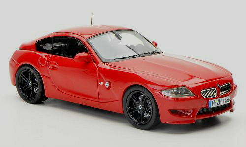 Wonderful NEO-modelcar BMW Z4 M COUPE (E86) 2009 - r e d  - scale 1 43