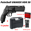 miniatuur 2 - Pack complet HDR 50 Umarex 11J Home Defense malette billes cartouches CO2 NEUF