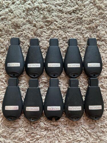 LOT OF 10 OEM RAM 13-19 FOBIK KEY REMOTE FOB FCC GOOD! 3-BUTTON GQ4-53T