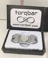 TORQBAR Chrome Spinner EDC Fidget Hand Spinner ADHD Autism Finger Spinner Toy
