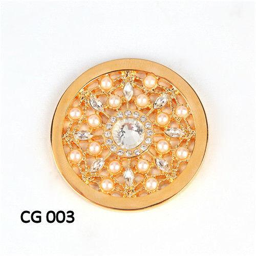 amarillo oro Color Las monedas de 33mm para Coinhalter 35mm compatible con Moneda de cuñas