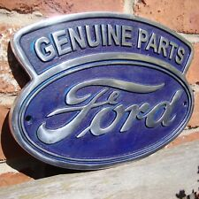 Ford sign ford cast aluminium sign ford genuine parts sign ford dealer VAC060