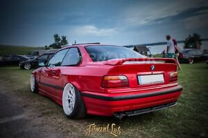 bmw e36 coupe rear overfenders fitment lab widebody drift. Black Bedroom Furniture Sets. Home Design Ideas