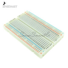 10PCS Mini Solderless Breadboard Bread Board 400 Contacts Available Test Develop