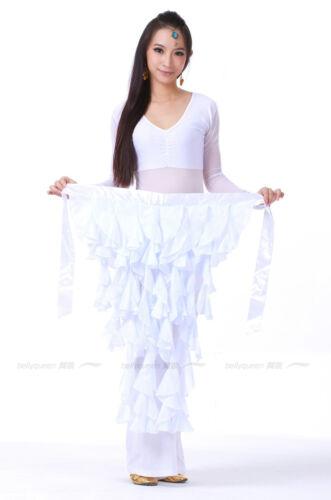 NEW Hip Scarf for dance Chiffon Hip Belt Belly Dance Costumes Practice Dancewear