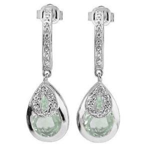 Ohrringe-Ohrstecker-Marianne-925er-Silber-3-52-Kt-echt-GruenerAmethyst-Diamant