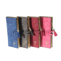 New Women's Fashion Frosted Wallet Button Clutch Purse Lady Long Handbag Bag