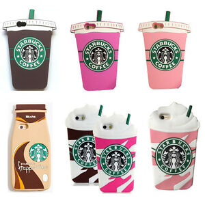 best service c8403 acad5 Details about Cute 3D Starbucks Soft Silicone Back Case Cover Skin For  iPhone & Samsung Galaxy