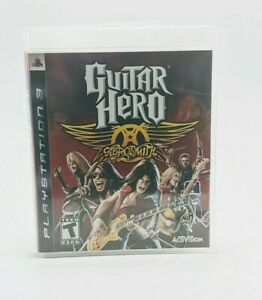Guitar Hero: Aerosmith (Sony PlayStation 3, 2008) PS3 Game ~ Complete w/ Booklet