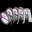 NEODYM-POWER-Magnetband-selbstklebend-3M-Kleberuecken-haelt-415g-cm-Magnet-Strip Indexbild 1