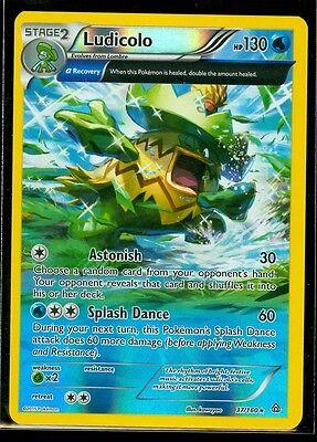 Ludicolo 37//160 Primal Clash Rare Mint Pokemon Card