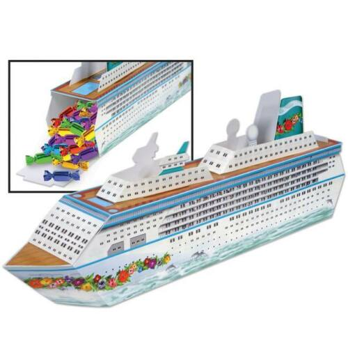 Cruise Ship Centerpiece Favor Box Nautical Cruise Party Birthday Decoration