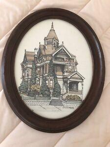 DEBBIE-PATRICK-Art-Framed-San-Francisco-Haas-Lilienthal-House-Signed