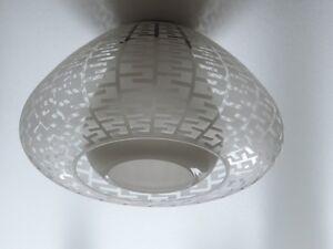 putzler pollux deckenlampe lampe wilhelm wagenfeld extrem selten 1952 ebay. Black Bedroom Furniture Sets. Home Design Ideas