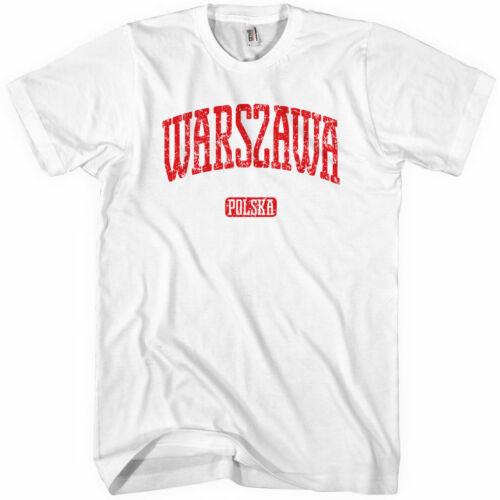 Warszawa Poland Polska Polish Polonia NEW XS-4XL WARSAW T-shirt
