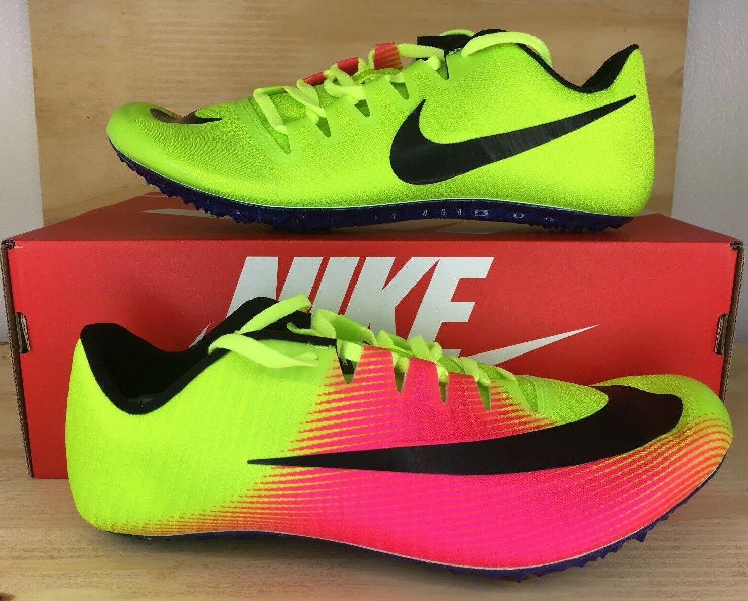 2017 New Nike Zoom Jafly 3 OC Track Field Spikes shoes 882032-999 Mens SZ 10.5