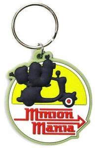 Despicable Me Minions Keyring Bagcharm Keychain Zip puller Rubber PVC