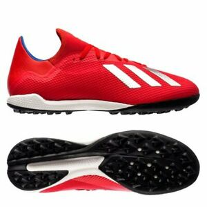 timeless design 6f153 dd34b Details about adidas X 18.3 Tango TF Turf 2018 Soccer Shoes Red - Royal -  White Brand New