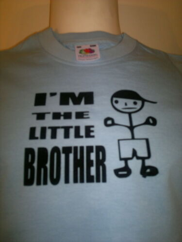 WITH YOUR NAME I/'M THE LITTLE BROTHER FANTASTIC FUNNY T SHIRT