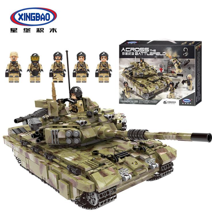 Panzermodell Panzerkampfwagen XINGBAO XB06015 Kinder Spielzeug Geschenk