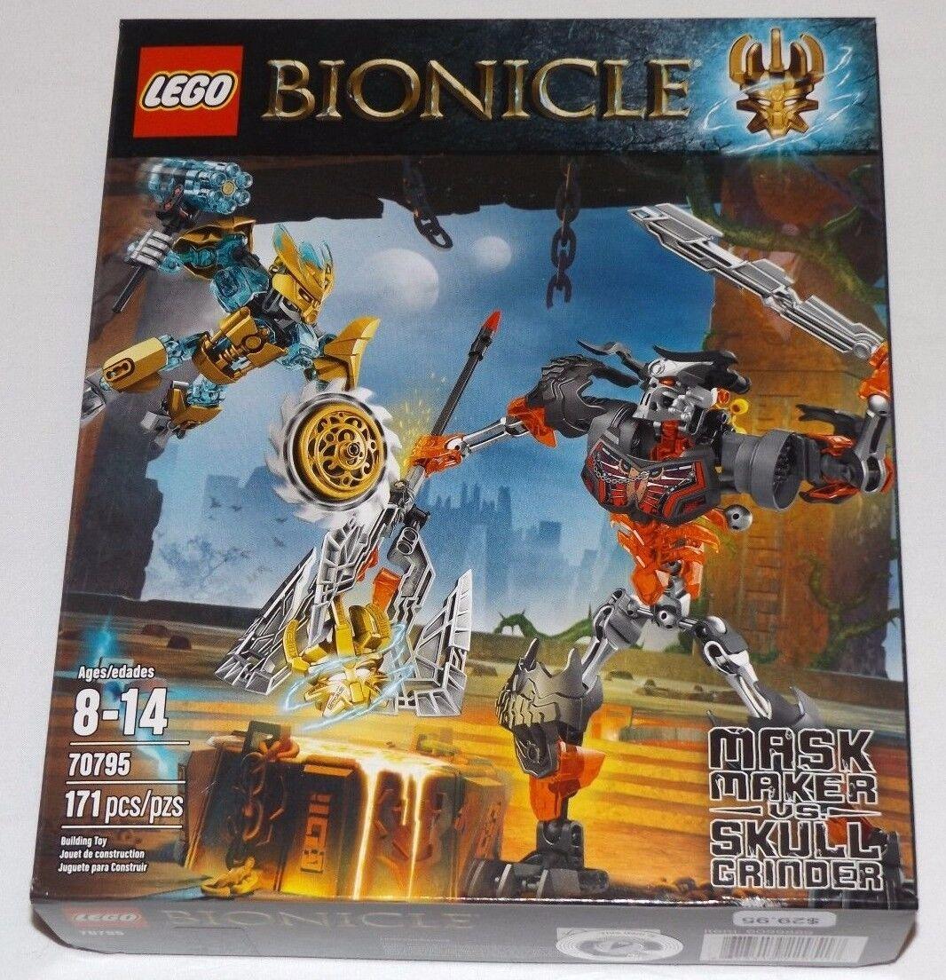 Lego Bionicle Masque Maker vs Crâne Meuleuse  70795 Masque de création Marteau Power  100% livraison gratuite