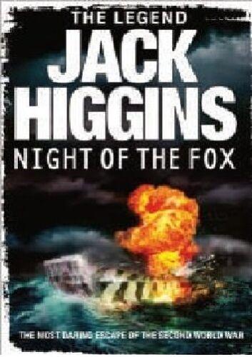 1 von 1 - Jack Higgins ___ Night der Fox ___BRANDNEU___PORTOFREI UK