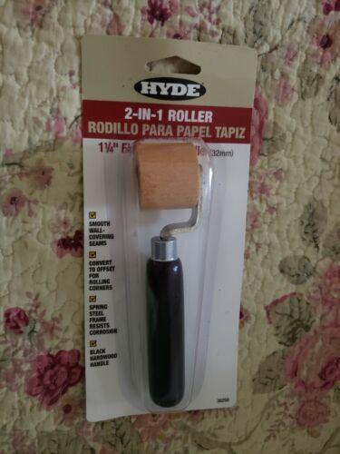 "Hyde 6096 Series 30250 1-1//4/"" 2-in-1 Flat Hardwood Seam Roller"
