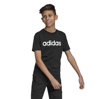 Adidas Kids Tshirt Essentials Linear Tee Training Young Boys DV1810 Modern