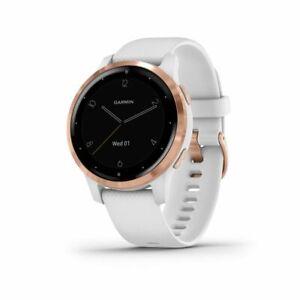 Garmin Vivoactive 4S Smartwatch (White/Rose Gold) 010-02172-21