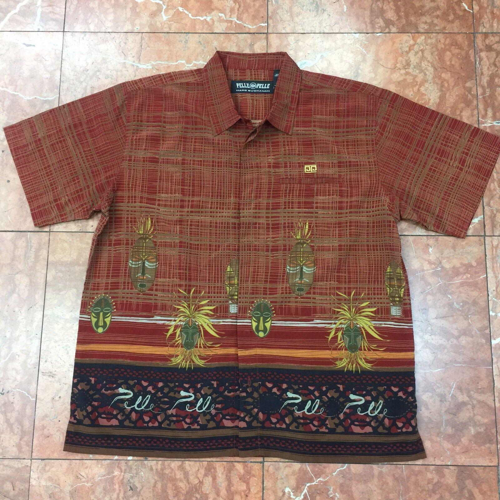 Men's Pelle Pelle Rusty Plaid Button Down Shirt