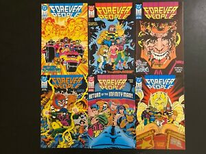 Forever-People-1-6-High-Grade-DC-Lot-Set-Run-CL56-56